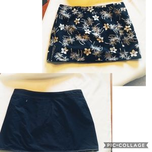 Ladies Reversible Bathing Suit Bottom Cover-Skirt